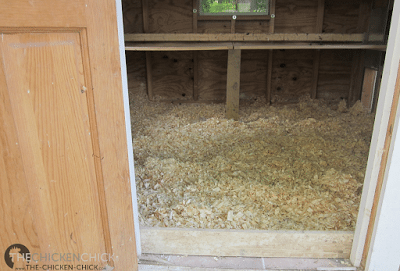 Pine shavings falling out of the doors is a pet peeve of mine, so kick-plates were installed at the thresholds.