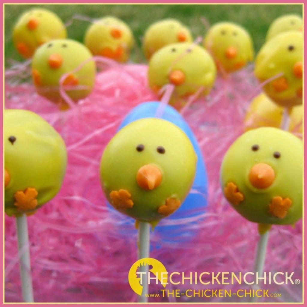 Chick Cake Pops 1 Dozen
