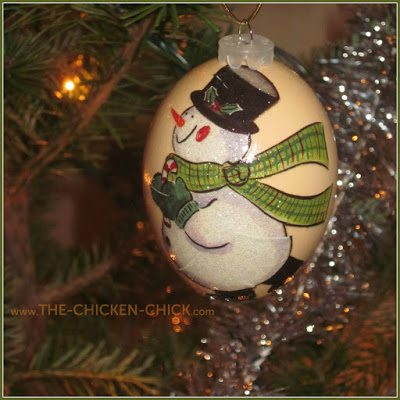 blown egg ornaments are a fun, economical and beautiful way to decorate inside the home while paying homage to our hard-working backyard pets.