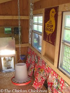 That nest box curtains can prevent a variety of problems.