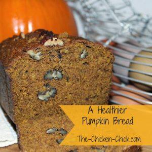 Healthier Pumpkin Bread Recipe