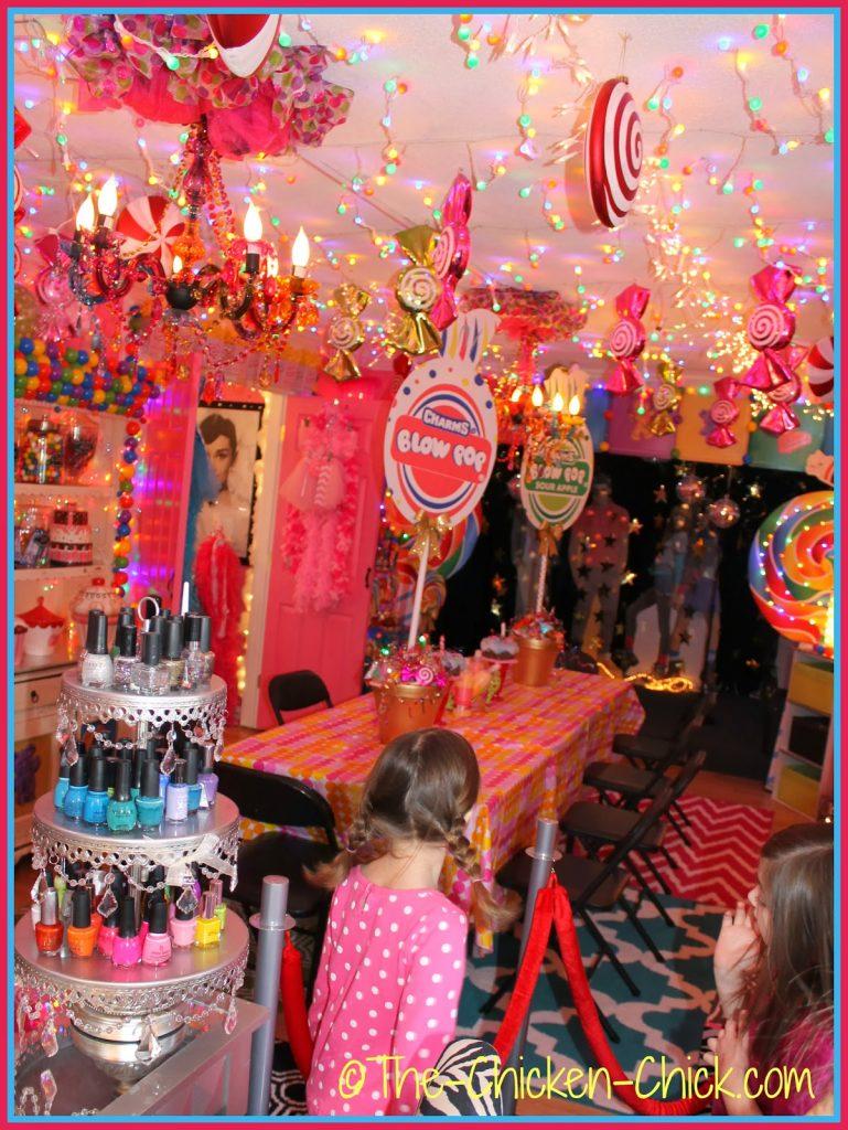Birthday Girl Spa Party