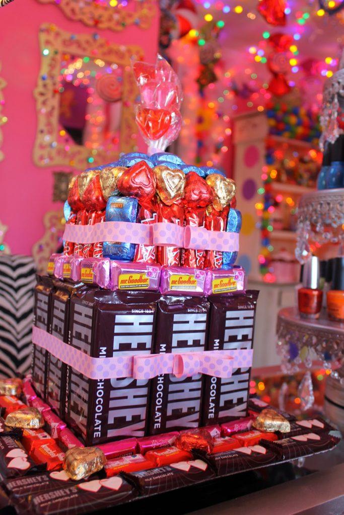 No-bake Birthday Candy Cake