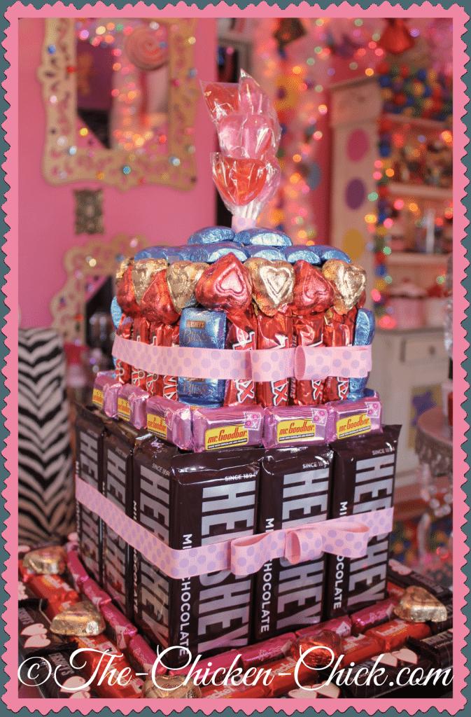 No-bake, DIY Candy Cake