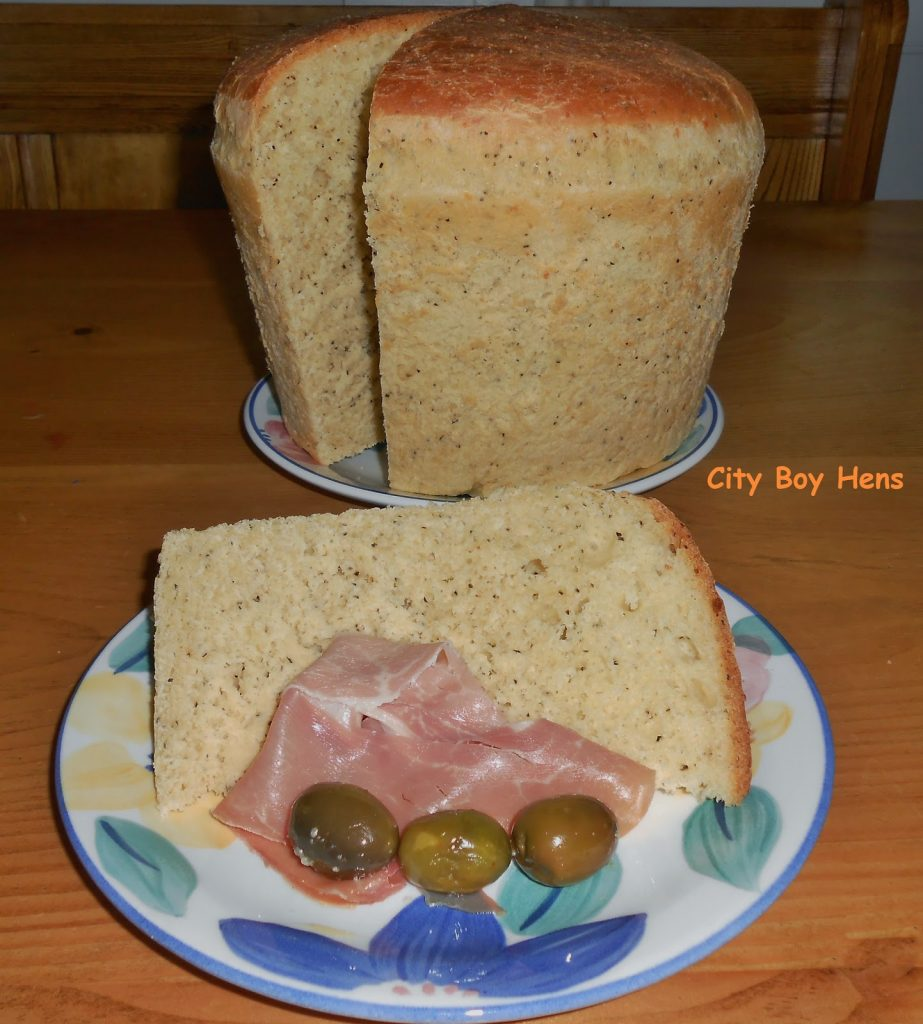 Crescia- The Easter Bread, shared by City Boy Hens