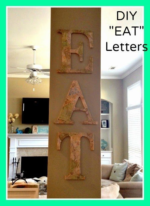 DIY Letters, shared by Married Filing Jointly