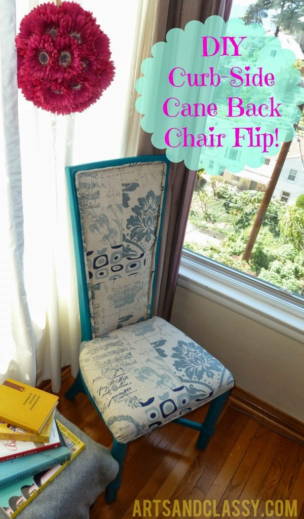 DIY Chair Makeover, shared by The Craftiest Allie