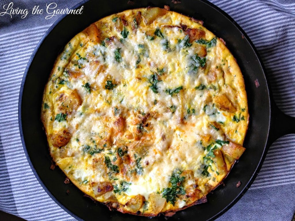 Potato Frittata, shared by Living the Gourmet