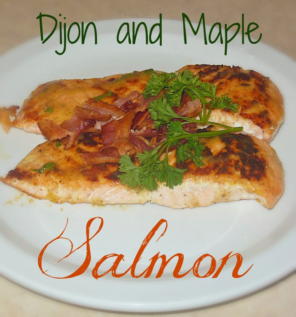 Dijon & Maple Salmon, shared by Lori's Culinary Creations