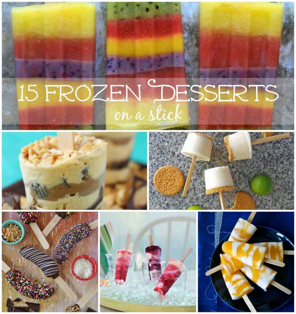 15 Frozen Desserts on a Stick, shared by Melissa Kaylene