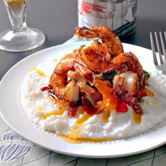 Cajun Shrimp & Grits, shared by The Egg Farm