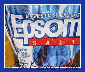 Epsom salt for sour crop treatment
