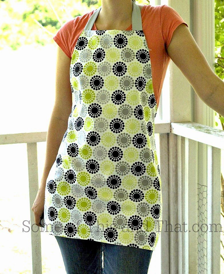 DIY Reversible Apron, shared by Some of This and That
