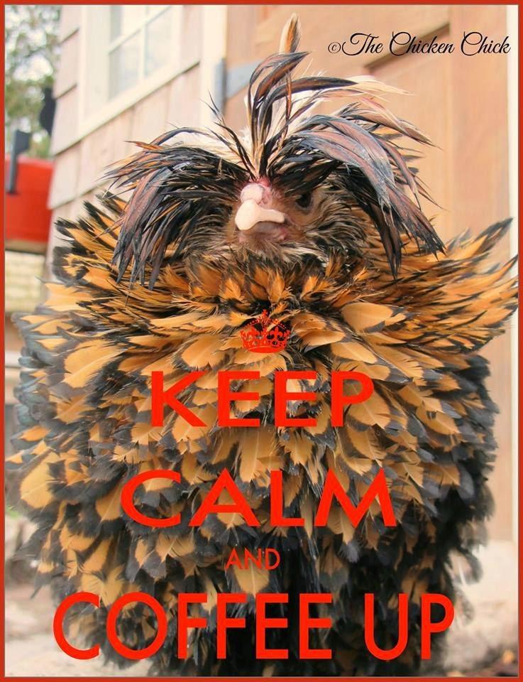 Keep Calm & Coffee up!