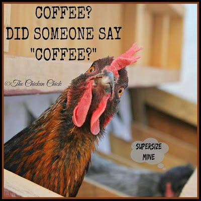 "Coffee? Did someone say ""COFFEE?"""
