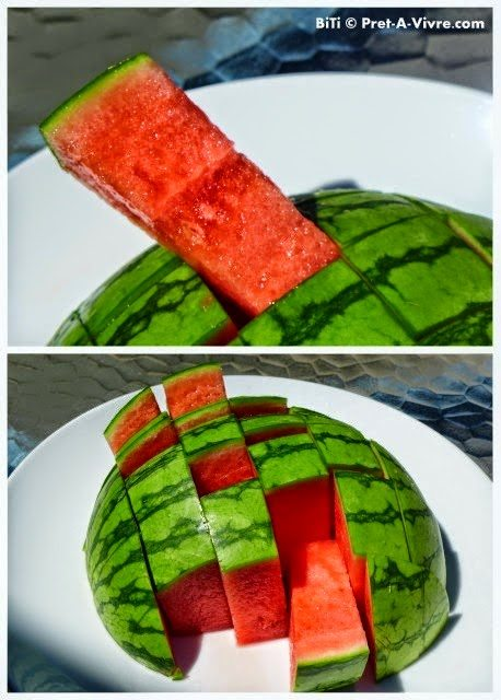 A Different Way of Cutting Watermelon, shared by Ready to Waltz
