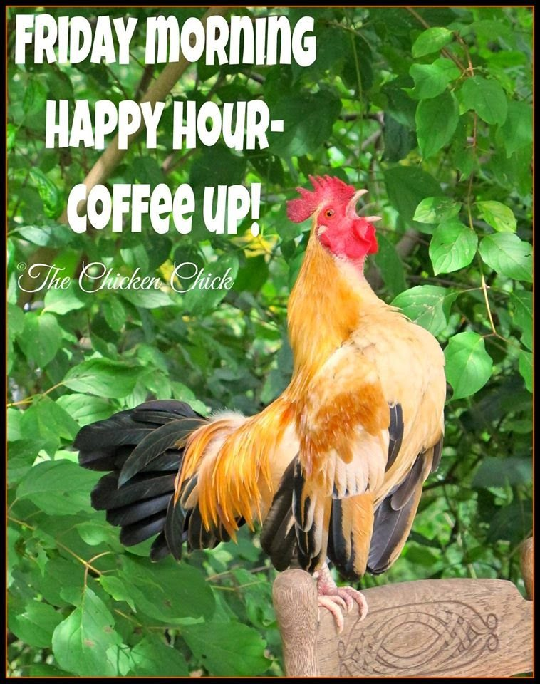 Friday morning happy hour, coffee up!