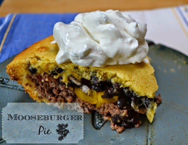 Mooseburger Pie, shared by Run 'n Stitch