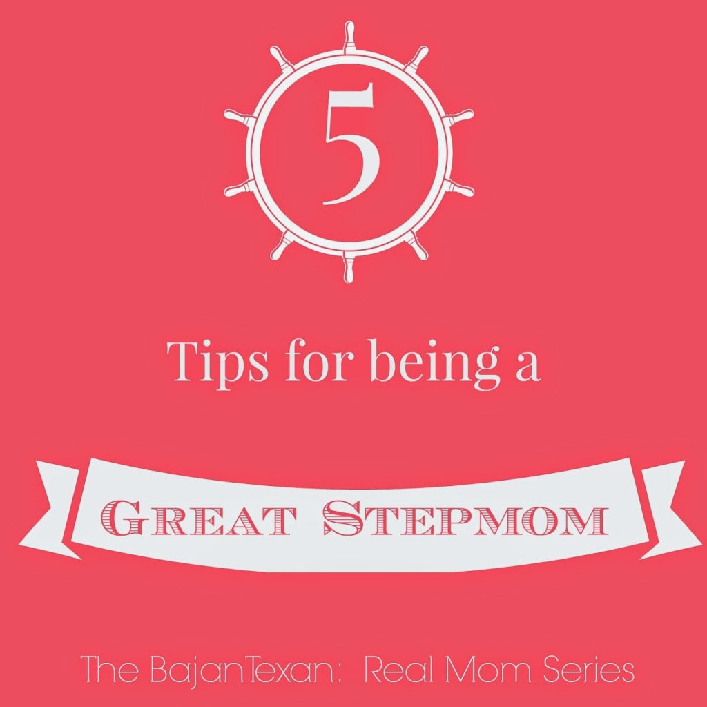 Five Tips for Being a Great Stepmom, shared by The Bajan Texan