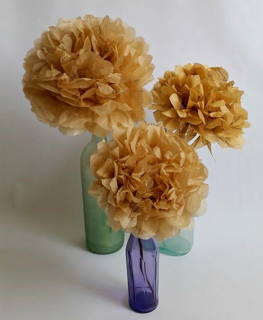 Sewing Pattern Paper Flowers, shared by Sadie Seasongoods