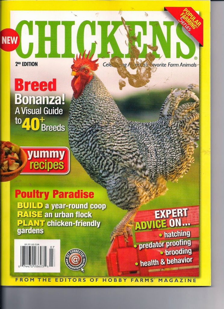 Chickens from the editors of Hobby Farms Magazine