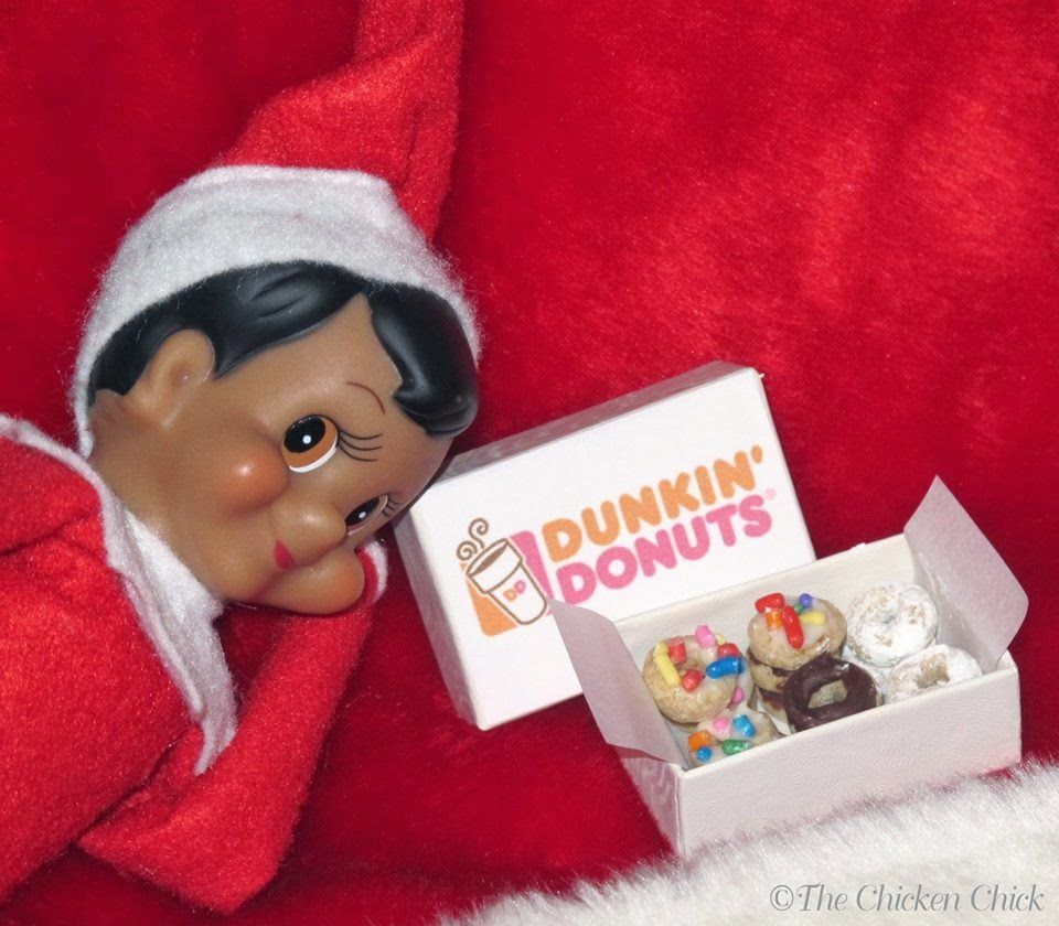 DIY Elf Donuts