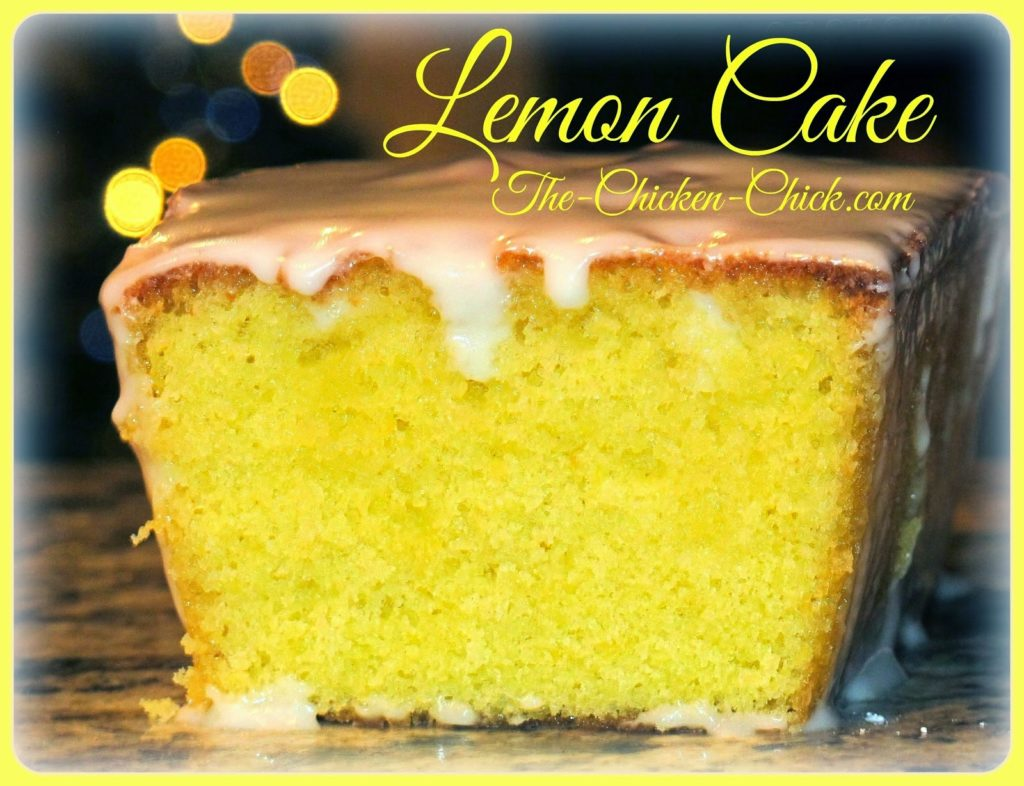 Glazed Lemon Cake via The Chicken Chick®