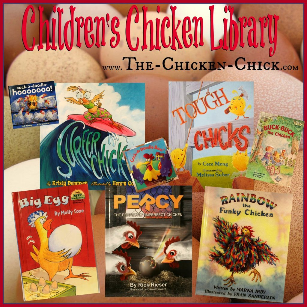 Children's Chicken Library- favorite children's books