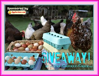 GIVEAWAY 25 PINK egg cartons at www.The-Chicken-Chick.com
