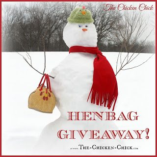 Henbag giveaway at The Clever Chicks Blog Hop