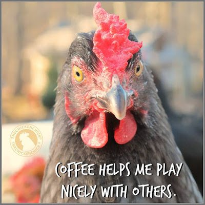 Coffee helps me play nicely with others.