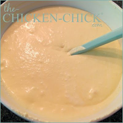 Pumpkin swirl cheesecake recipe via www.The-Chicken-Chick.com