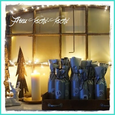 Beer Advent Calendar, shared by Frau Tschi Tschi at The Chicken Chick's Clever Chicks Blog Hop