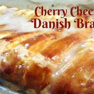 Cherry Cheese Danish Braid