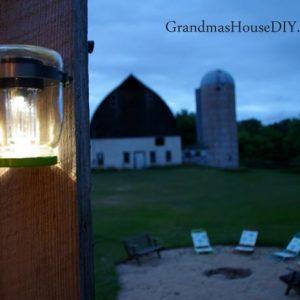 Mason Jar Solar Lights Tutorial