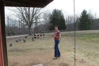 A visit with Gail Damerow on her farm in Tennessee where she lives with her husband Allan.