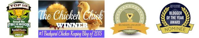 Awards, The Chicken Chick®