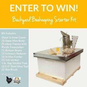 Backyard Beekeeper Starter Kit Giveaway, courtesy of Harvest Lane Honey