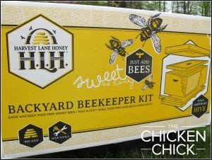 Backyard Beekeeper Kit from Harvest Lane Honey