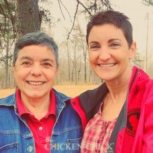 Gail Damerow and Kathy Shea Mormino