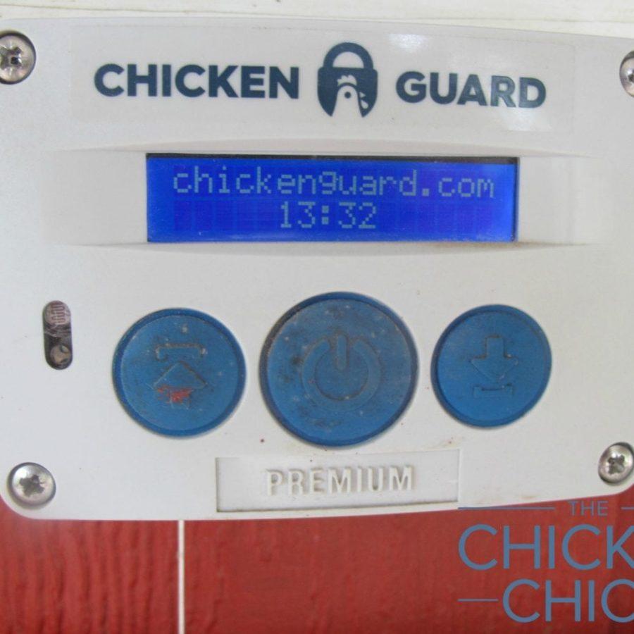ChickenGuard LCD display