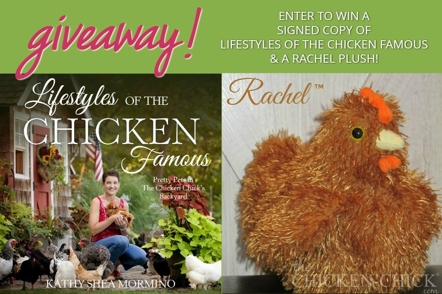 Lifestyles of the Chicken Famous and Rachel Plush Giveaway