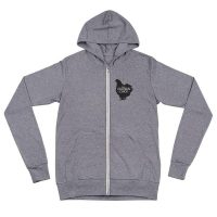 Team Chicken Chick Adult ZipUp Hoodie