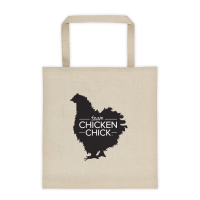 Team Chicken Chick Tote