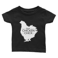 Team Chicken Chick Infant Tee