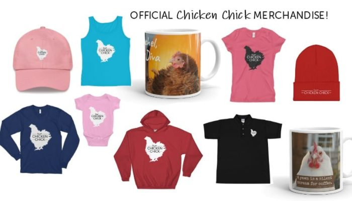 SHOP OFFICIAL CHICKEN CHICK MERCHANDISE!