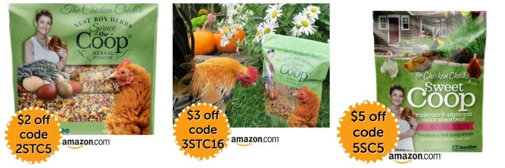The Chicken Chick's Spruce the Coop Herbal Fusion & Sweet Coop Zeolite