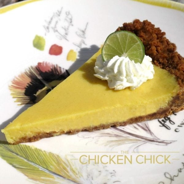 Key Lime Pie With Lemon Cookie Crust