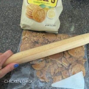 Key Lime Pie with Lemon Cookie Crust Crush Cookies
