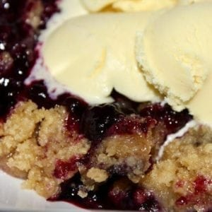 The Ultimate Blueberry Crisp